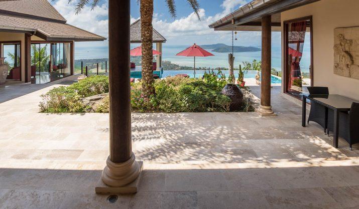 Villa Disa – Vue incroyable sur la Mer, Sud de Samui