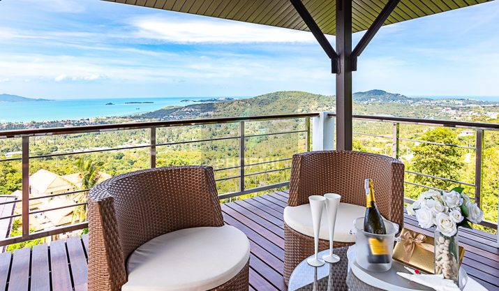 Villa GreyHavens, Amazing Sea View, Bophut – North of Samui
