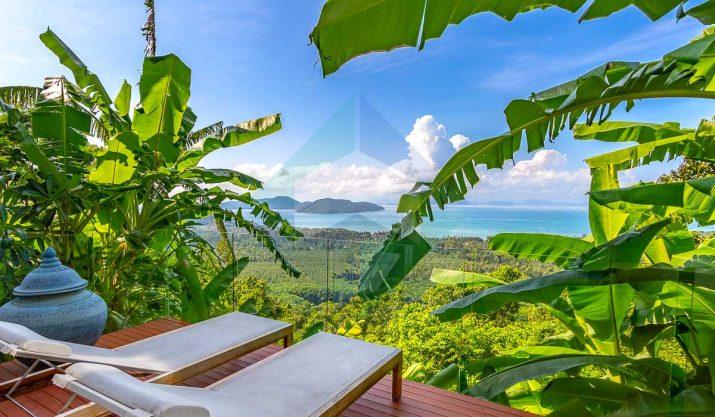 Villa Burberry – Luxury Villa Sea View – South of Samui
