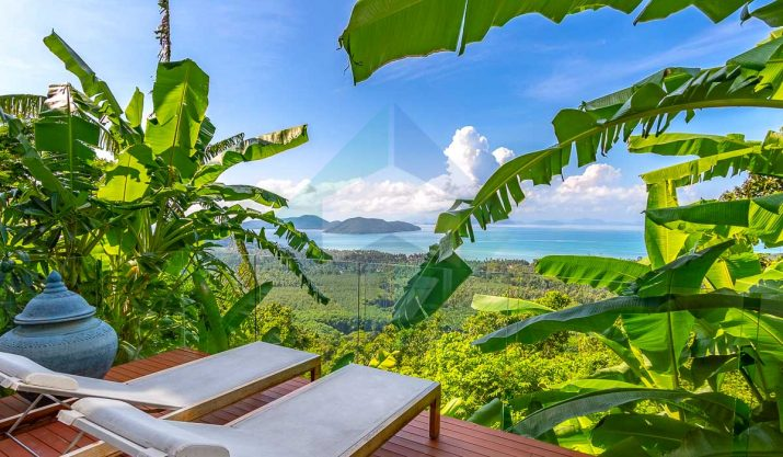 Villa Burberry – Villa de luxe – Vue Mer – Sud de Koh Samui