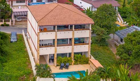 3 Floors Apartment Building - Sea View - East Of Koh Samui - Lamai