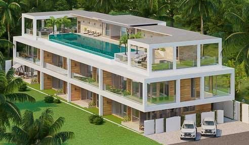Choeng Mon Fine Living Apartments – Project North-East Of Koh Samui – Choeng Mon
