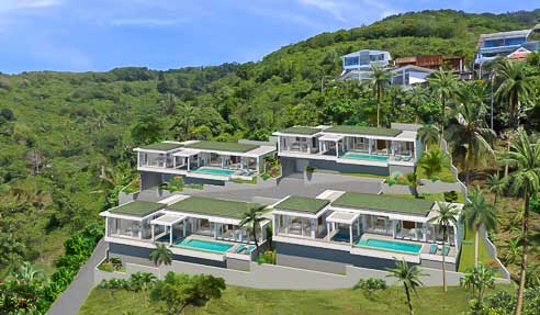 Green Yard Villas – Project North Of Koh Samui – Bophut