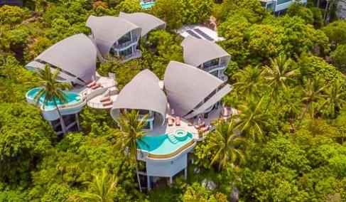 Hotel Villas Calypso – Incredible Sea View – East Of Koh Samui – Chaweng Noi