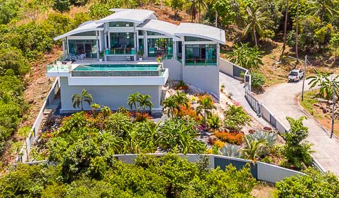 Villa Biotite – Splendid Contemporary Architecture – North Of Koh Samui – Bophut