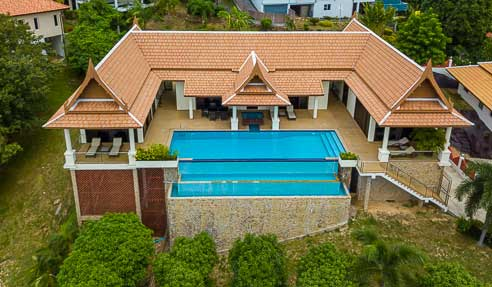 Villa Celiana – Plain Pied – North Of Koh Samui – Ban Tai