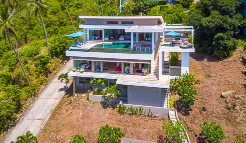 Villa Cinder – Luxurious Villa Of Modern Architecture – East Of Koh Samui – Chaweng Noi