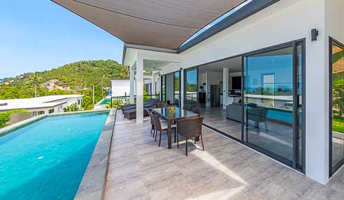 Villa Comet – Great Location – East Of Koh Samui – Chaweng Noi