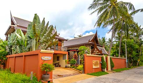 Villa HappySai – Contemporary Thai Style Villa – North Of Koh Samui – Maenam