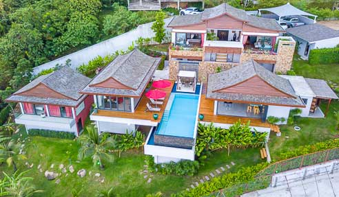 Villa Jeanna Blue – Luxury Villa – North Of Koh Samui – Bophut