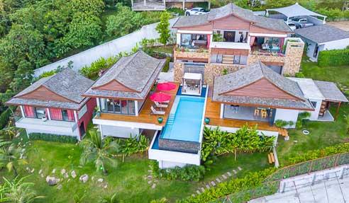Villa Jeanna Blue – Luxury Villa – North Of Koh Samui – Bophut
