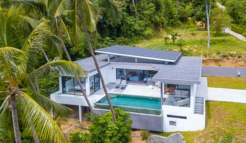 Villa Laury – Beautiful Modern Style Villa – South-East Of Koh Samui – Lamai