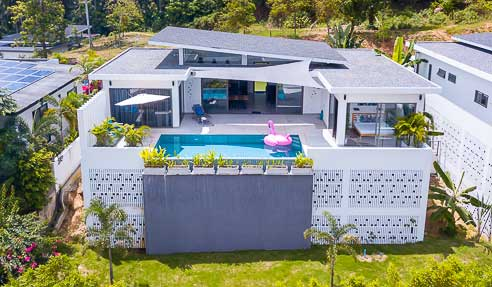 Villa Lime – Great Design – South-East Of Koh Samui – Lamai