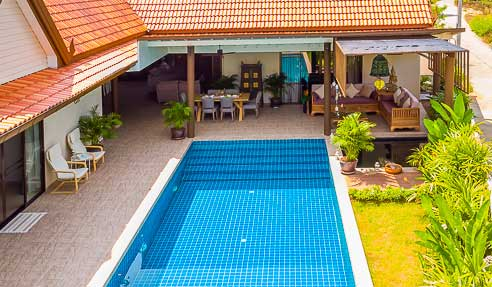 Villa Narcissus – Modern-Thai Style Villa – South Of Koh Samui – Bang Kao