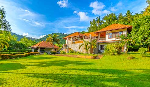 Villa Nemesia – Large Villa On A Wide Land Plot – South Of Koh Samui – Na Mueang