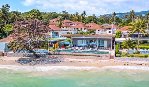 Villa Nickel – Beachfront Luxury Villa – South Of Koh Samui – Na Mueang