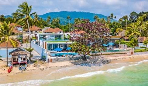 Villa Nickeline – Beachfront Luxury Villa – South Of Koh Samui – Na Mueang