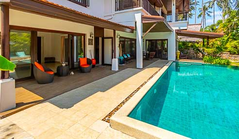 Villa Rosy – Connected To The Beach – South Of Koh Samui – Hua Thanon
