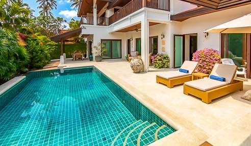 Villa Ruby – Right Next To The Beach – South Of Koh Samui – Bang Kao