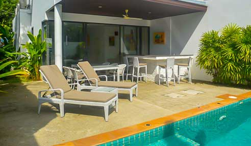 The Sanctuary Villa – Villa In A Safe Community – North Of Koh Samui – Plai Laem