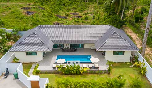 Villa Luna - U-Shaped Modern Villa - East Of Koh Samui - Lamai
