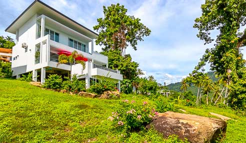 Villa Neptune – 2 Story Sea View Villa – West Of Koh Samui – Nathon
