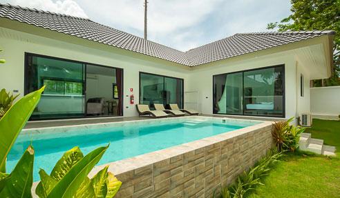 Villa Lina - Modern Style Pool Villa - East Of Koh Samui - Lamai